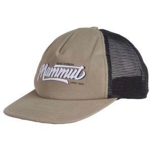 Mammut Crag Logo Graphic Baseball Cap Unisex Beige